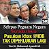 Kalau 1MDB tak salah kenapa Najib Razak ganggu siasatan skandal 1MDB ? Kenapa...kenapa...kenapa...