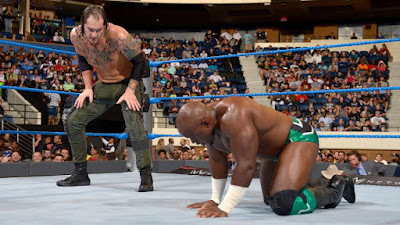 Baron Corbin Deg. Apollo Crews at backlash 2016
