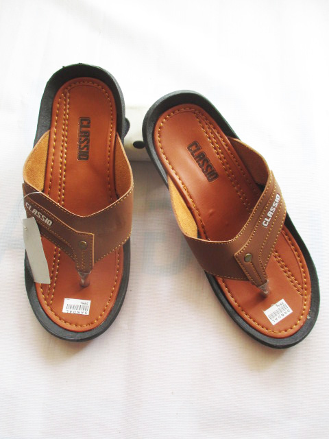 sandalmurahonline.com Pabrik Sandal Imitasi Kulit Murah   Sandal Pria