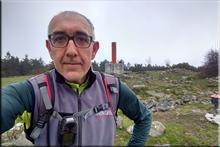 Berretin mendiaren gailurra 1.221 m. - 2018ko maiatzaren 4an
