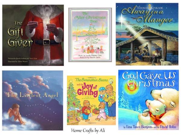 Christmas Books Kids Religious Holiday