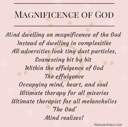 Image for poem: Magnificence of God