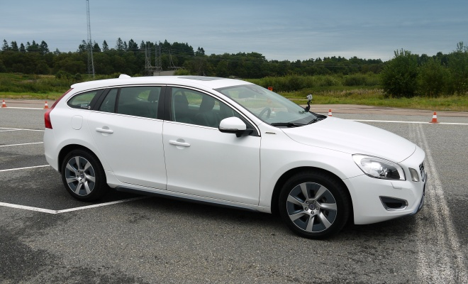 Volvo V60 PHEV side profile
