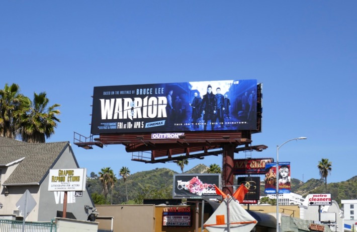 Warrior Cinemax billboard