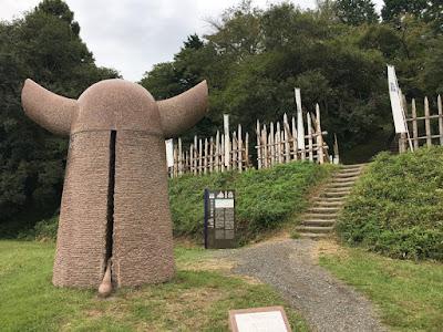 関ヶ原 笹尾山登り口
