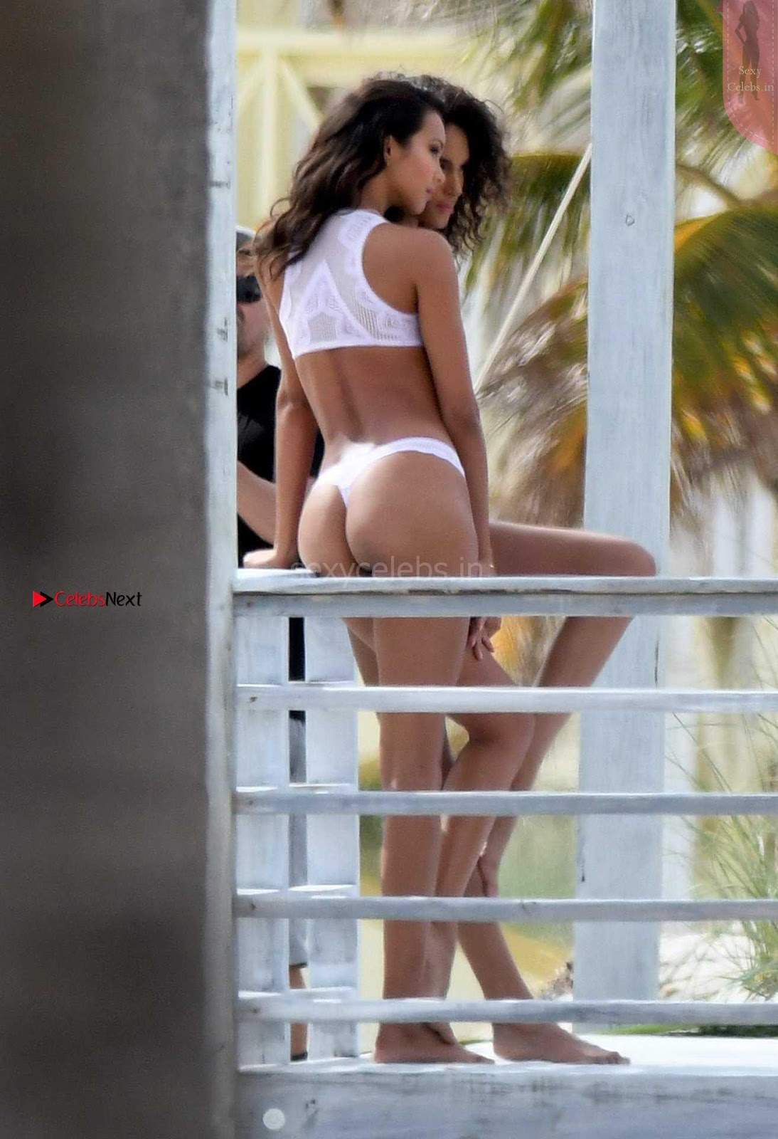 Lais Ribeiro and Cindy Bruna Unbelievably hot girls in Bikini Shoot backstage Leaked pics WOW