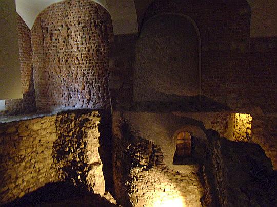 Wawel Zaginiony. Pozostałości Rotundy Najświętszej Marii Panny.