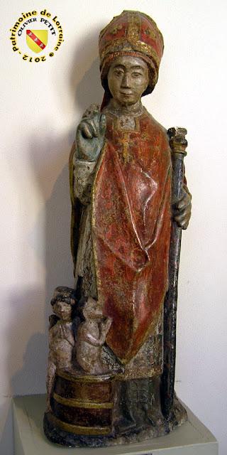 Saint-Nicolas (XVIe siècle) - Statue en bois - Musée Lorrain de Nancy (54)