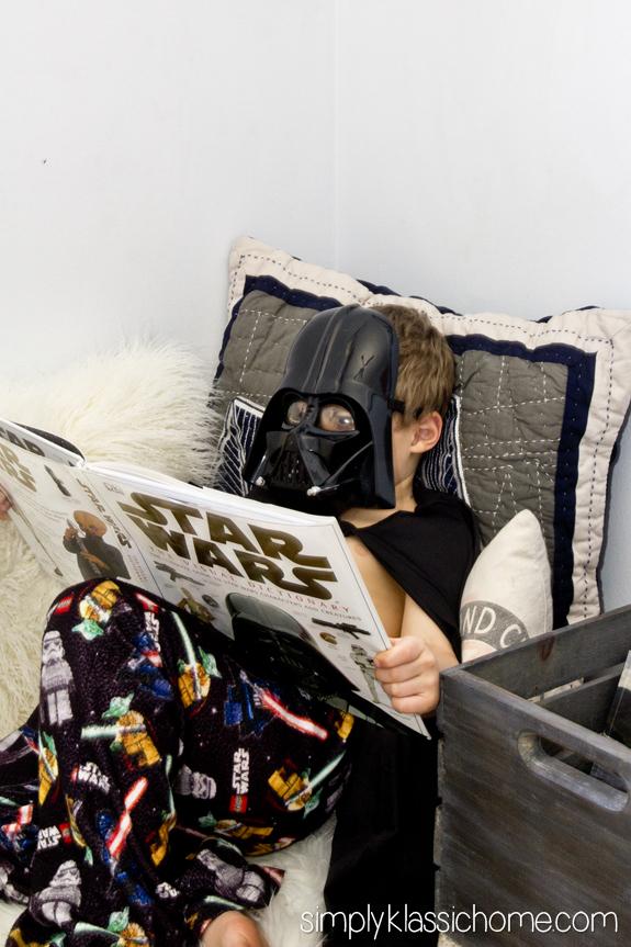 Boy S Industrial Star Wars Bedroom Makeover Reveal