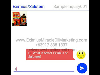 salutem oil cancer sample text chat
