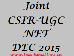 image : Joint CSIR-UGC NET Dec. 2015