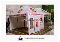 tempat, pembuat, penjual, produksi tenda event promosi