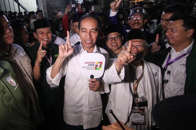Pemuda Aswaja: Pilih Jokowi-Ma'ruf akan Dapat Pahala
