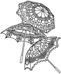 зонт символ мехенди