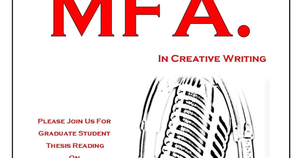 mfa creative writing reading list