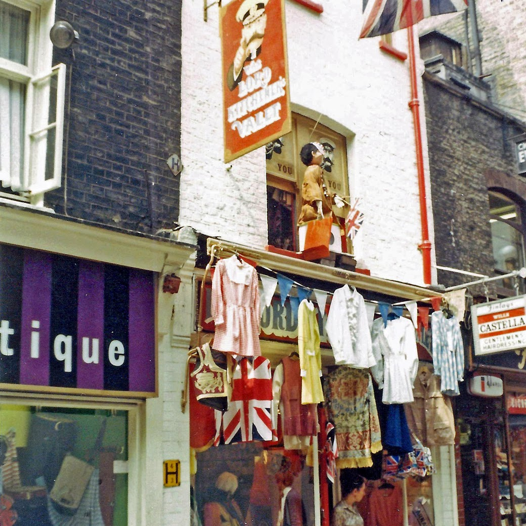 street scenes of london from the 1960s and 1970s vintage