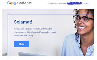 cara mudah ternak akun adsense satu blog