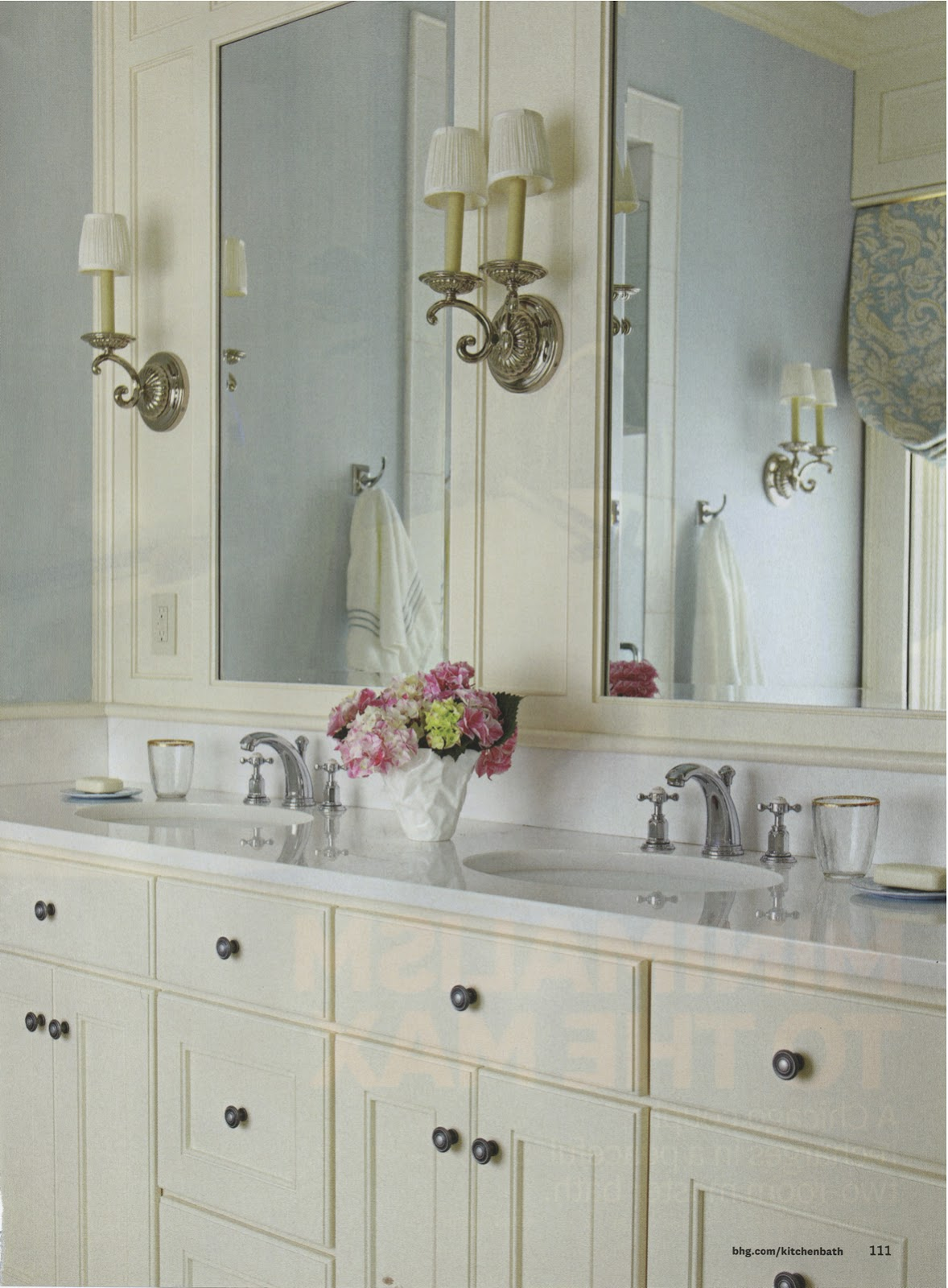 Mel Amp Liza Bathroom Designs Mirror Wall