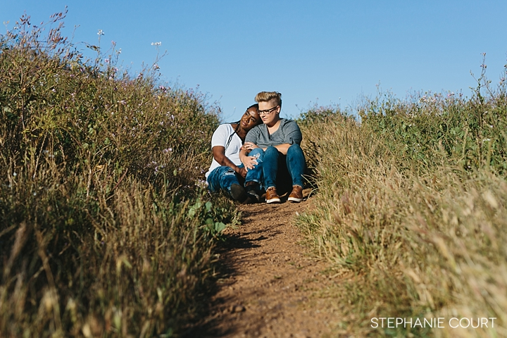 bernal heights engagement session