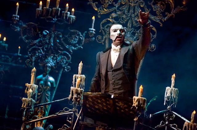Musical Phantom of the Opera na Broadway