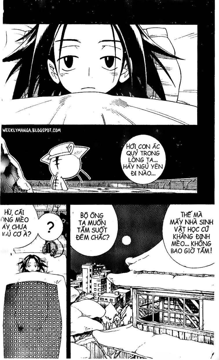 Shaman King [Vua pháp thuật] chap 166 trang 18