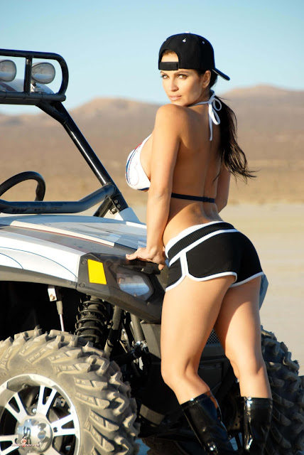 Denise Milani ATV hot and sexy Photoshoot picture 22