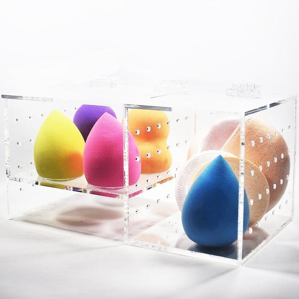 Shop Wholesale Acrylic Beauty Makeup Sponge Blender Holder at Nile Corp