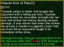 naruto castle defense 6.4 Stunade Heaven Kick of Pain detail