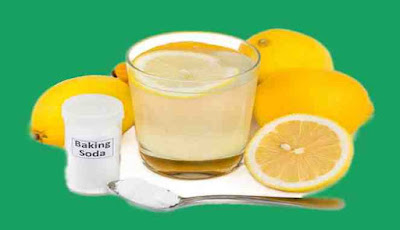 Baking soda campur lemon