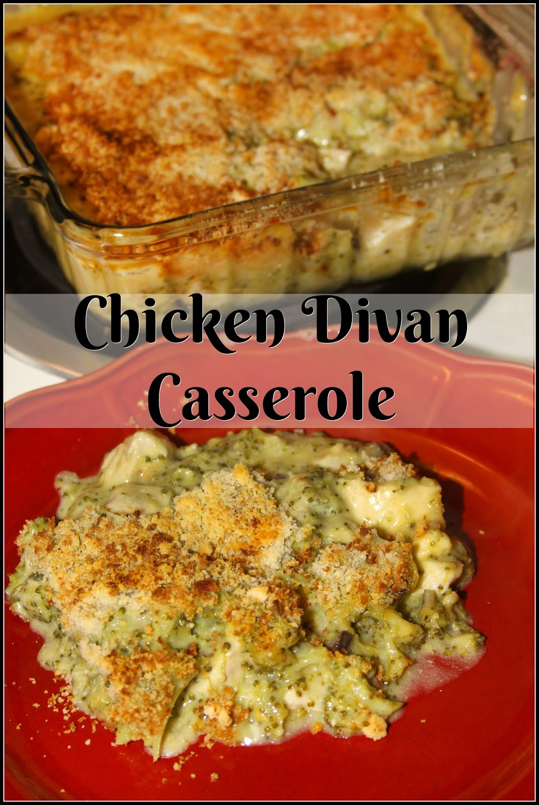 For the love of food chicken divan casserole chicken divan casserole this forumfinder Choice Image