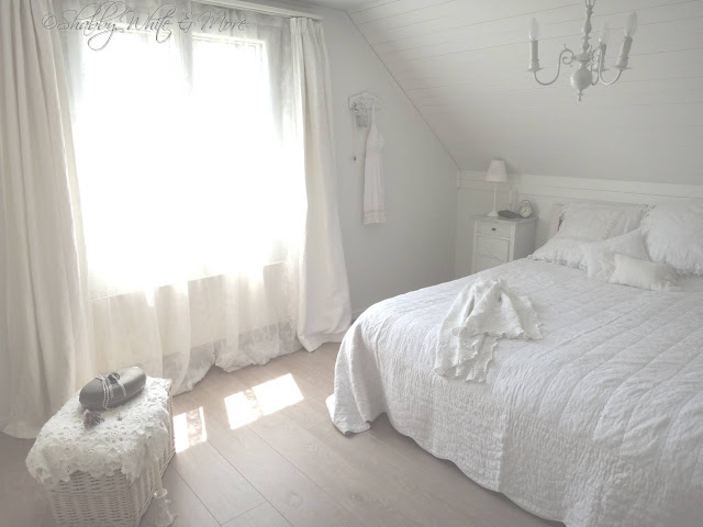 Shabby white and more neues schlafzimmer - Neues schlafzimmer ...