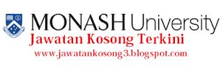 Jawatan Kosong terkini Monash University