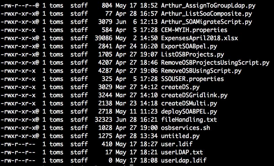 Nostra Technology: Export SOA Composites Menggunakan Python Script