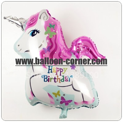 Balon Foil HAPPY BIRTHDAY Unicorn