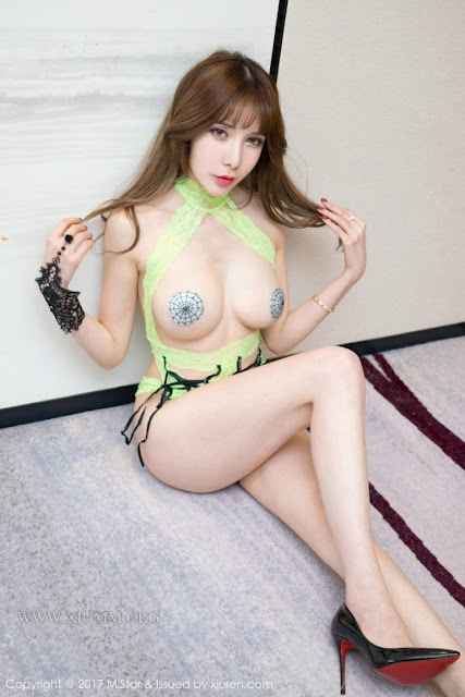 Hot girls Korean sexy girl Spider nipple 2