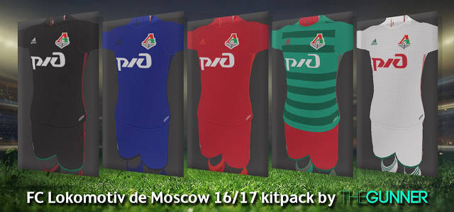 PES 2013 Lokomotiv Moscow Kit Season 2016-2017