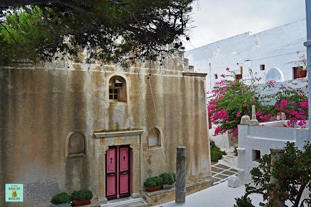 Monasterio de Taxiarchion, isla de Serifos (Grecia)