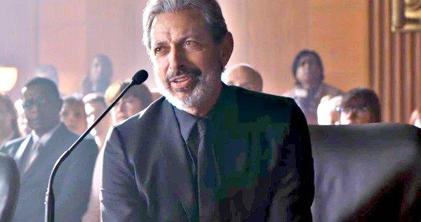 Ian Malcolm (Jeff Goldblum) dans Jurassic World 2, réalisé par Juan Antonio Bayona (2018)