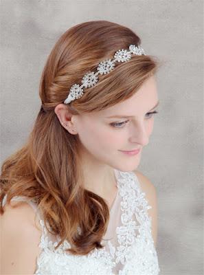 Peinados de novia con tiara