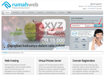 Tutorial Cara Membeli Domain di RumahWeb 1