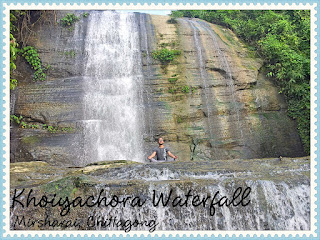 Khoiyachora Waterfall, Mirsharai, Chittagong
