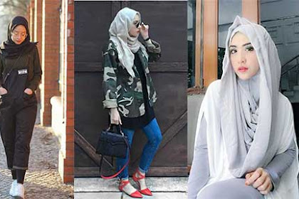 Trend Busana Muslim Wanita Terbaru 2019