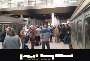 إضرب سائقي القطارات يتسبب في تكدس الركاب بالمحطات بأسوان
