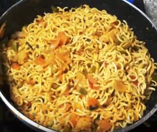 Noodles Biryani Recipe - How to Make Noodles Biryani Recipe at Home