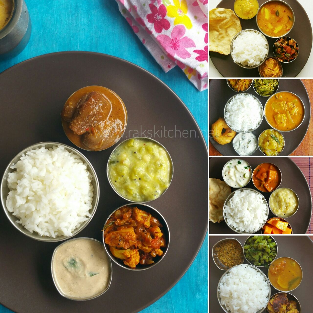 South indian weekly lunch planner raks kitchen south indian weekday lunch planner forumfinder Images