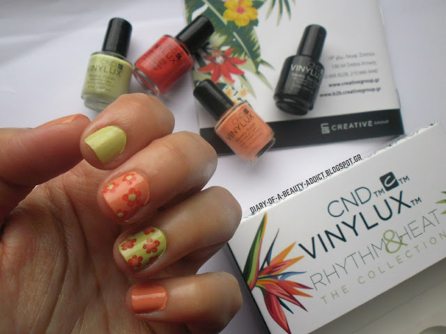 CND Rhythm & Heat: Nail Art