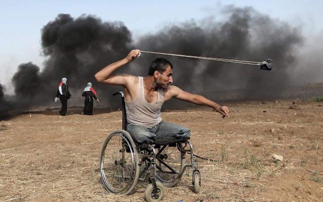 Fadi Abu Salah; Pejuang Berkursi Roda Itupun Gugur