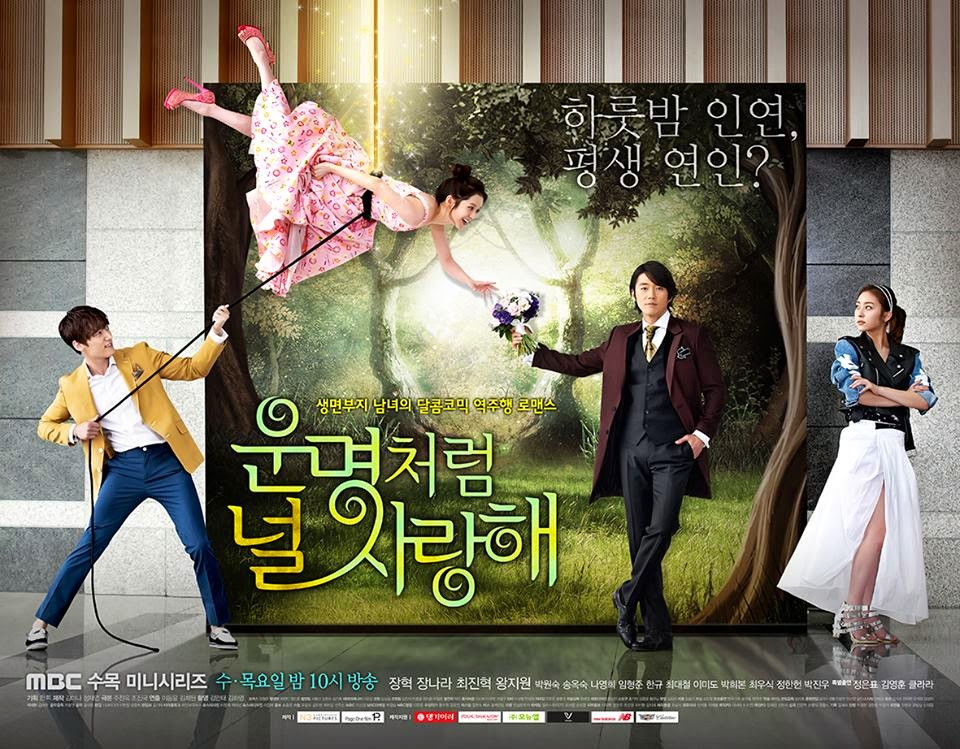 Fated to Love you korean version, 2014 kdrama drama withdrawal syndrome Jang Hyuk Jang Na Ra