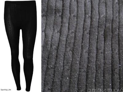 Costa Blanca Cable knit leggings Dex