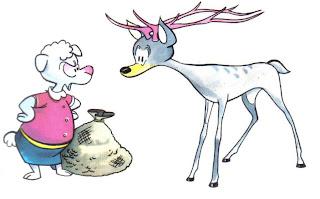 la oveja y el ciervo samaniego